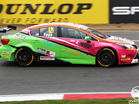 Progress And Potential For Epps In Brands Hatch BTCC Debut