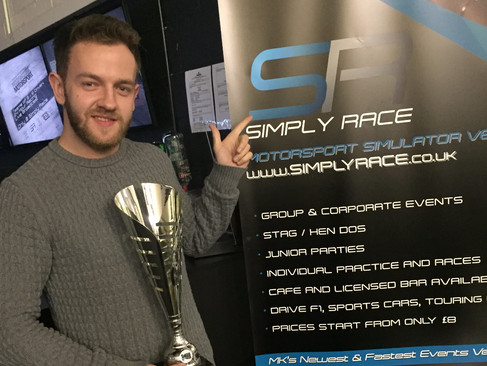 Epps Donates £500 Win to Cancer Research Charities in Star-Studded Racing Challenge