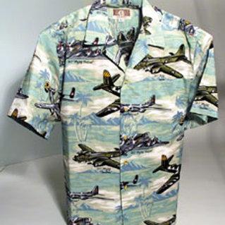 Hawaiian Shirt (GREEN)