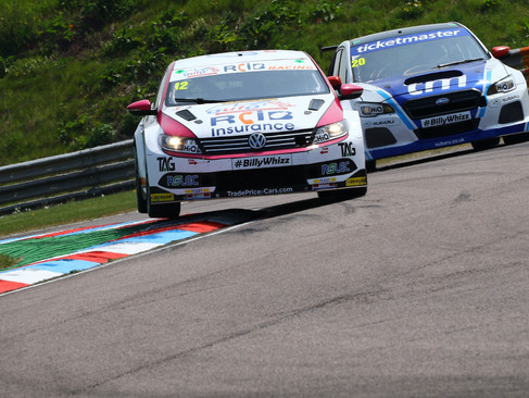 Epps Endures Throwaway Thruxton Weekend