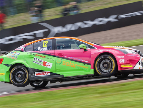 Epps Endures Tough Knockhill BTCC Induction