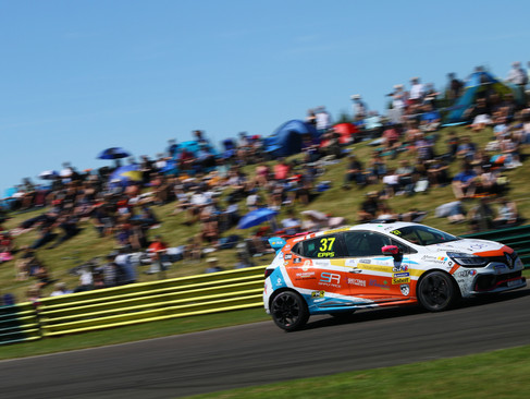 Epps Continues Progress With Trying Croft Clio Weekend