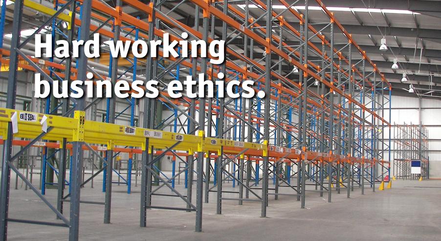 Hard working business ethics