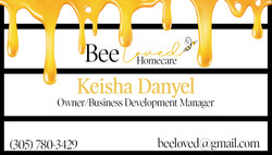 Bee Loved Homecare Business Card