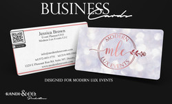 Business Card IG Post