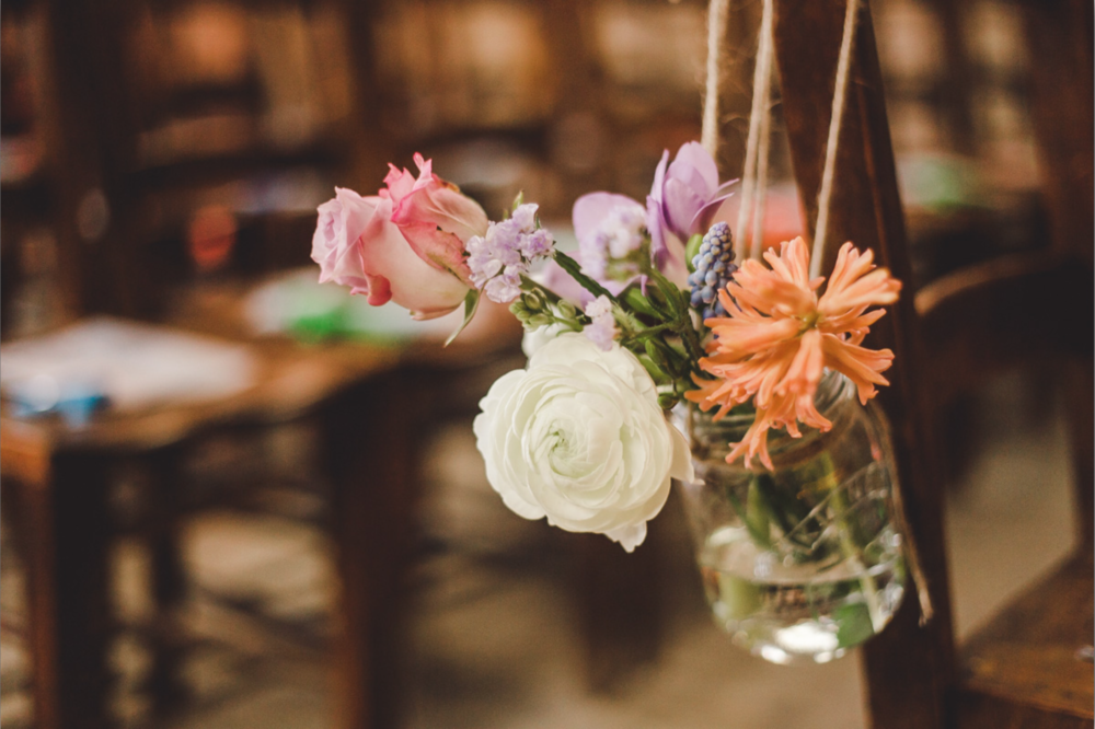wedding+florist+london+asylum+peckham+nunhead+pastel+bouquet+candles+3