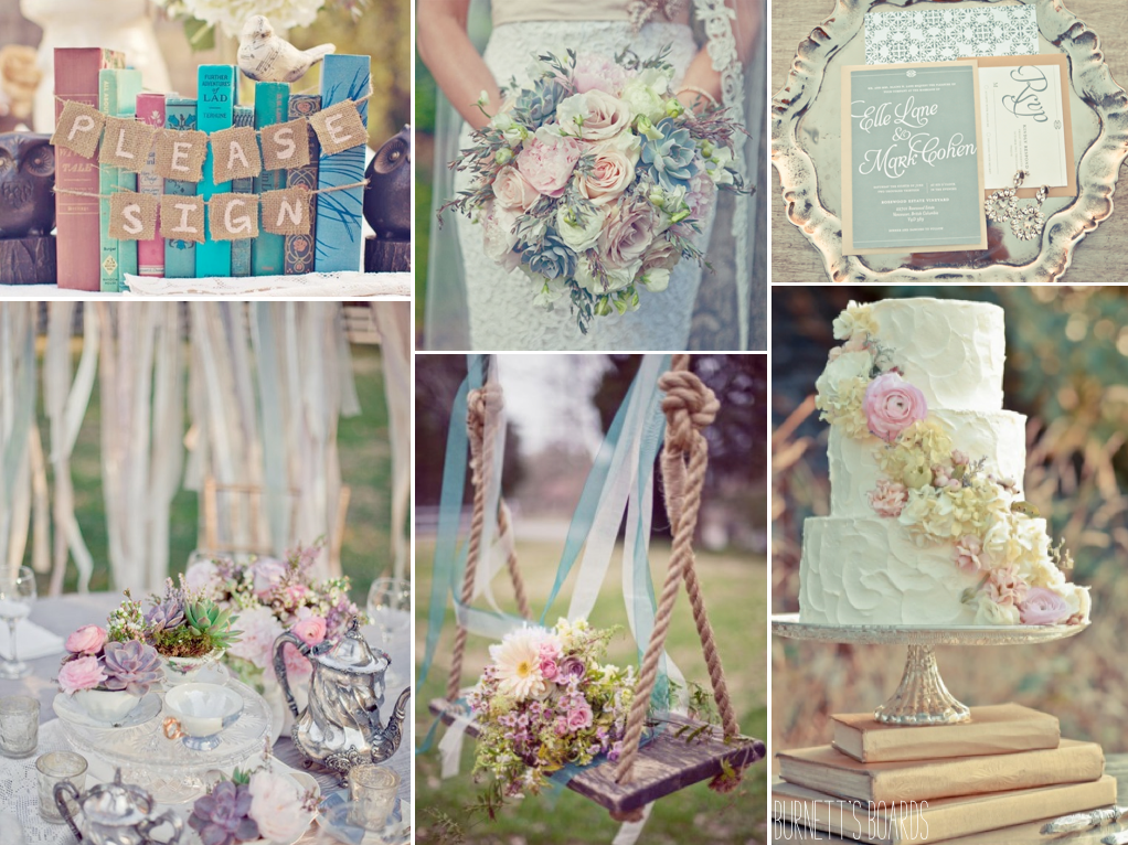 vintage-book-themed-wedding