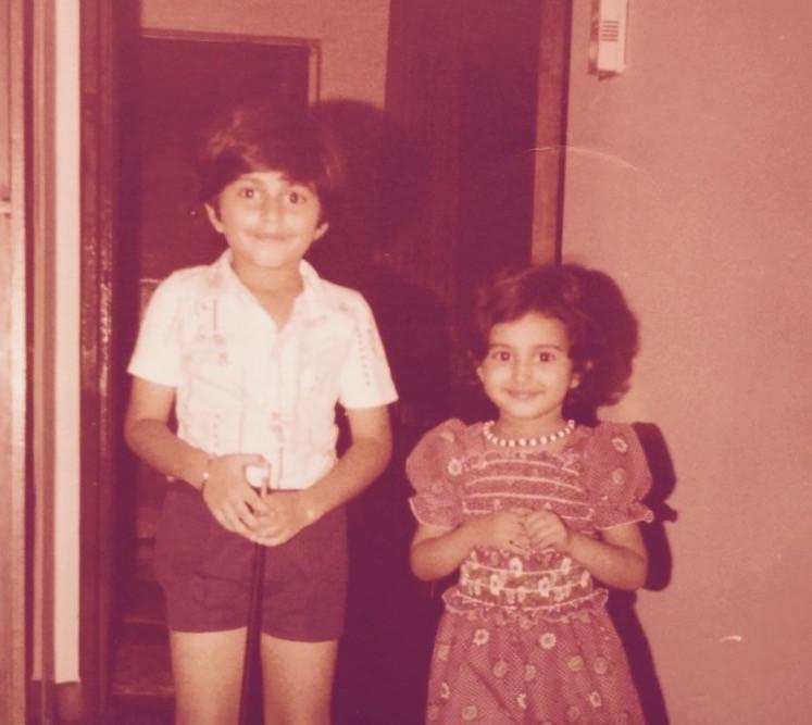 Me and my brother, Hong Kong