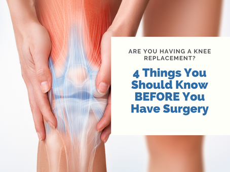 This is what you need to know BEFORE knee replacement surgery!