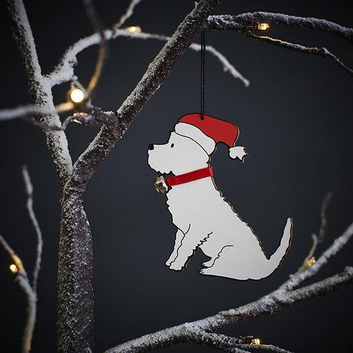 Westie Christmas Tree Decoration
