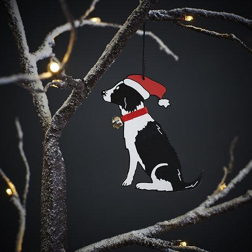 Springer Spaniel Christmas Tree Decoration