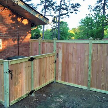 Custom Cedar Wood Privacy