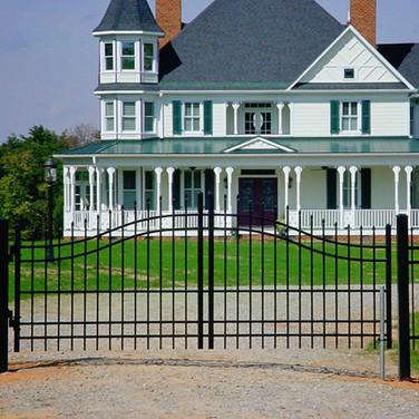 Aluminum Estate Gate