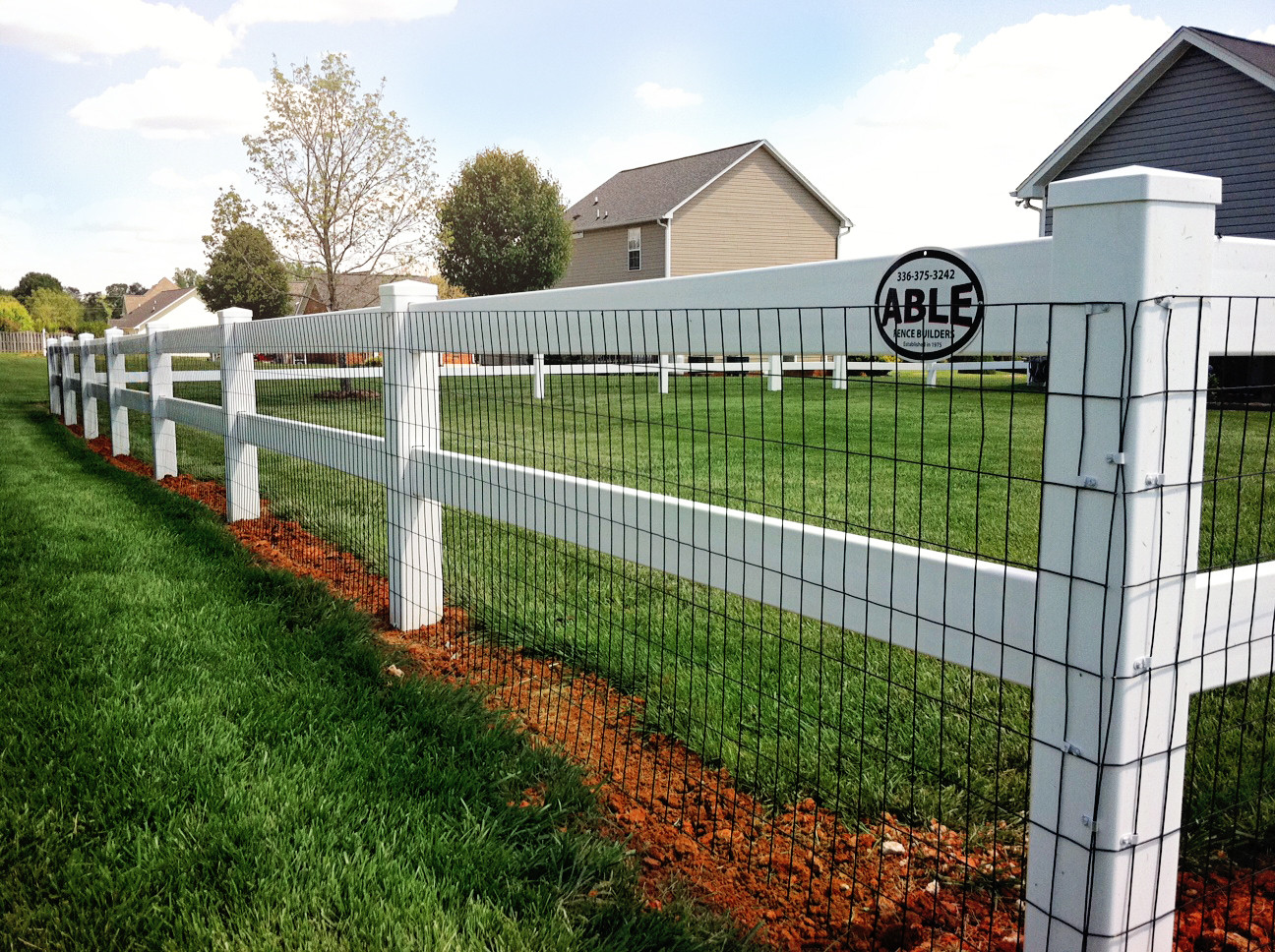 Vinyl - Able Fence Builders - Greensboro, NC