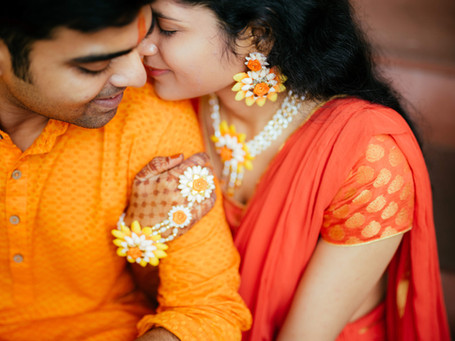 Ankita & Surya - A favorite Spring kinda day