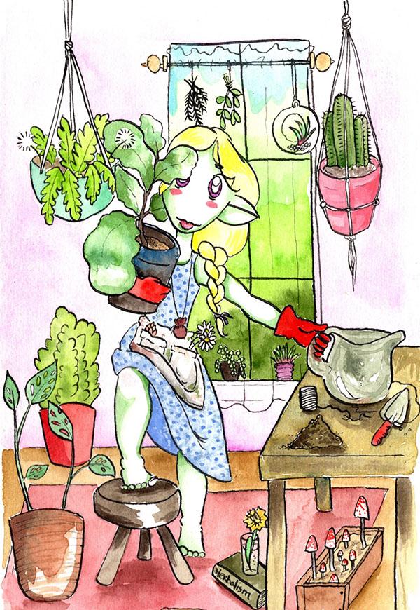 Garden Witch Wylia