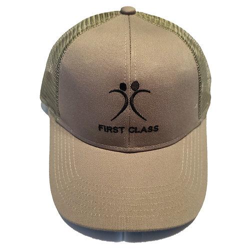 Military Green First Class Snap Back Cap