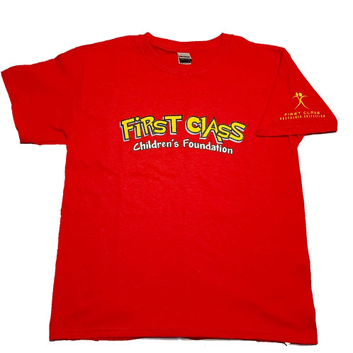 Kid's Pokemon First Class Logo Tee (Red Ver.)