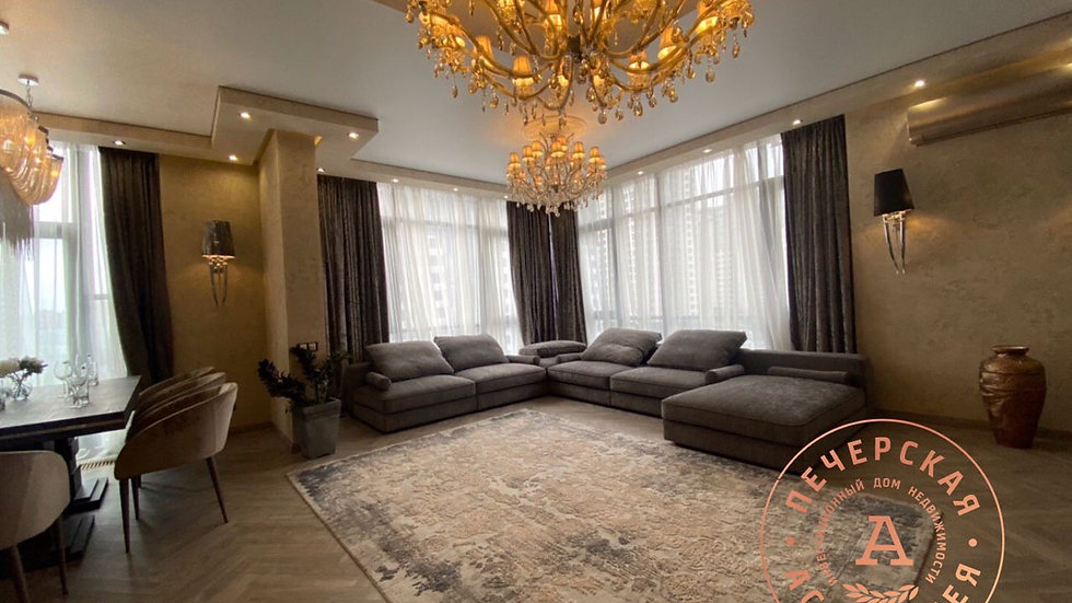 Снять 3-х комнатную квартиру в ЖК Новопечерские Липки