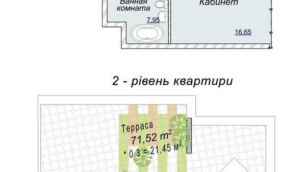 """Купить Пентхаус в ЖК """"Новопечерские Липки"""""""