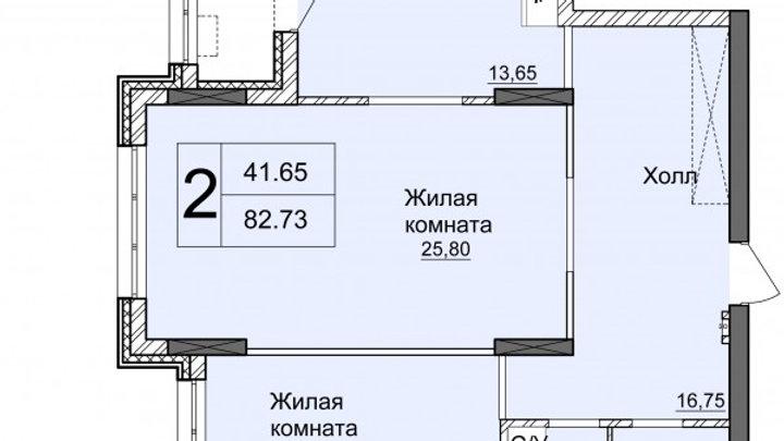 Продажа двухкомнатной квартиры ул.Драгомирова ЖК Новопечерские Липки Без Ремонта