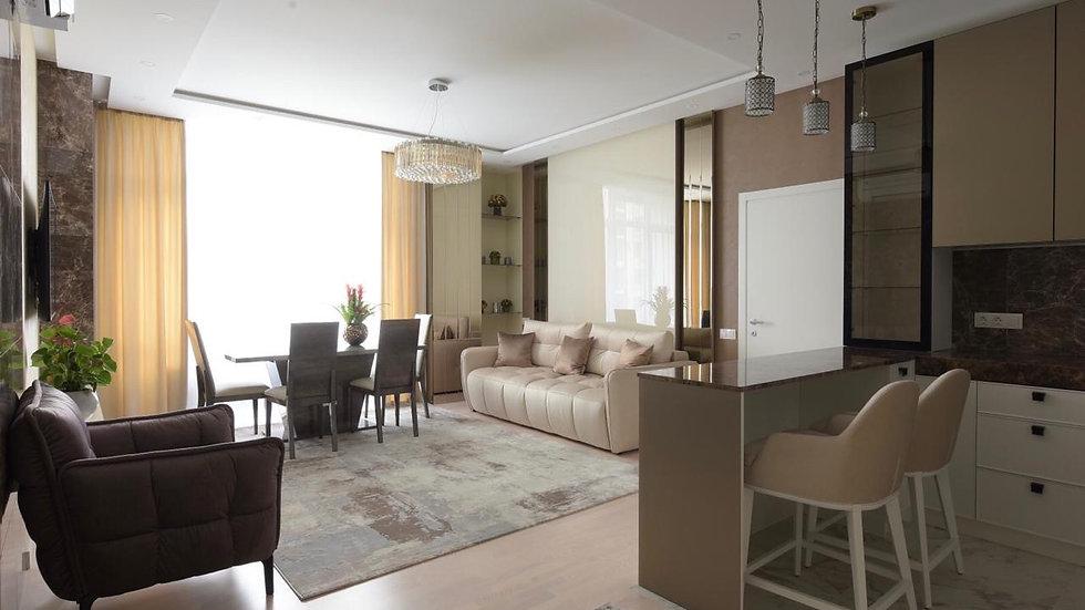 Аренда 3-комнатной квартиры на ул.Сапёрное Поле