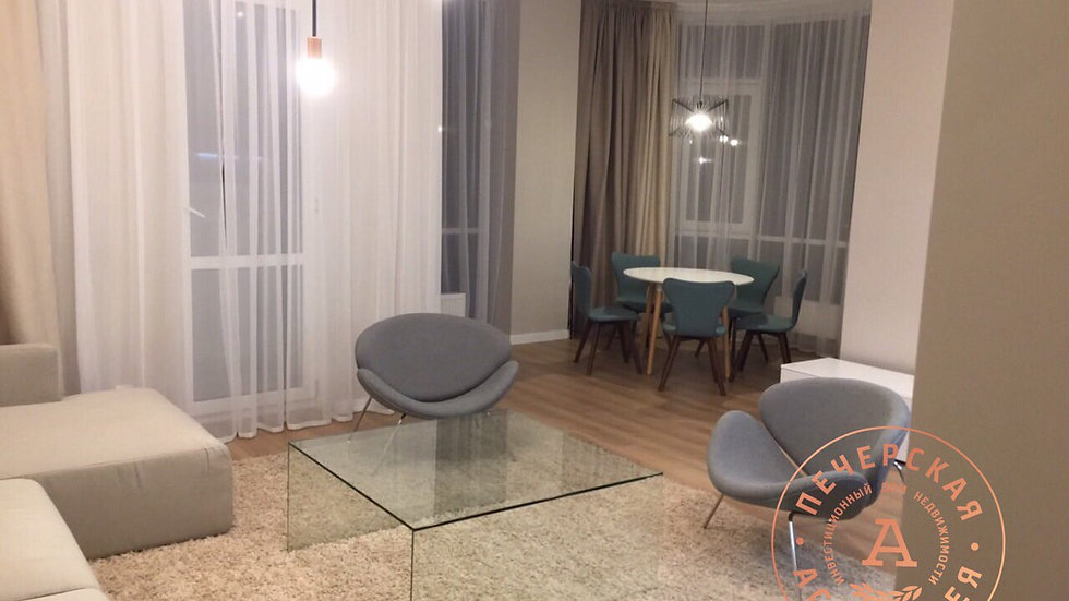 Снять 3-х комнатную квартиру ЖК Новопечерский Двор