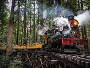 All Aboard! Santa Cruz Redwoods Train Ride