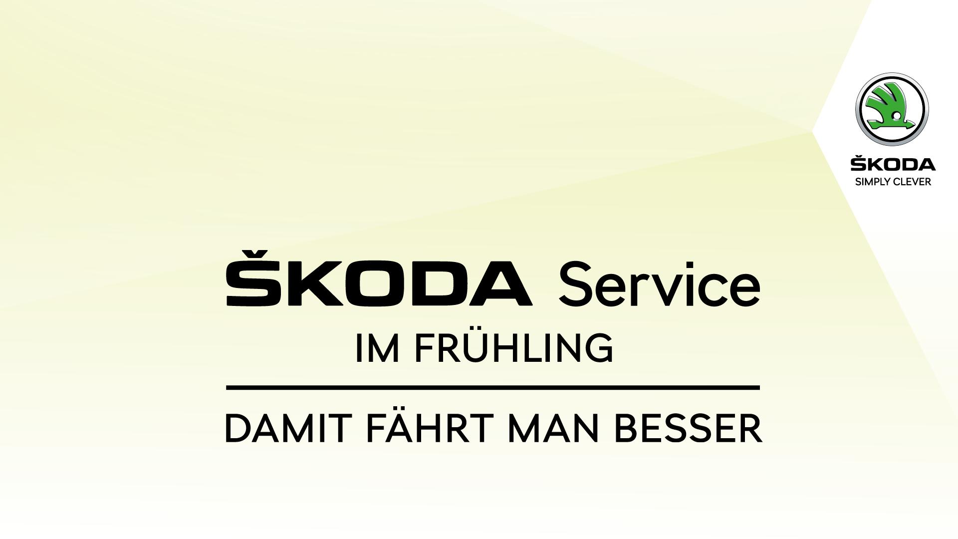 ŠKODA SERVICE IM FRÜHJAHR