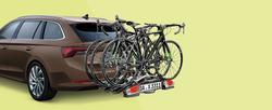 Fahrradträger für die Anhängerkupplun