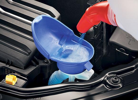Deckeltrichter für Waschwasserbehälter