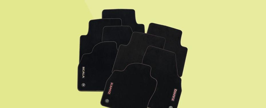 Textilfußmatten - Set, Premium