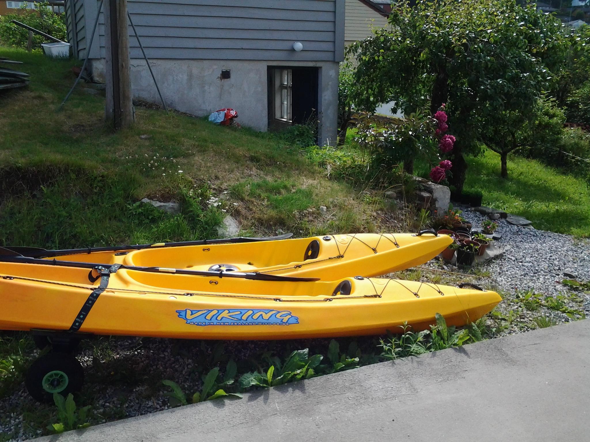 Hardanger Rom & Harmonium rent kayaks