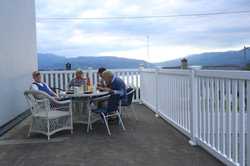 Dinner with hardangerfjordwiev