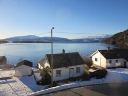 Utsikt frå Kvamsøy vinter