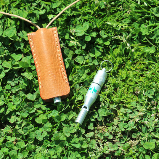 Whistle Leather Cover