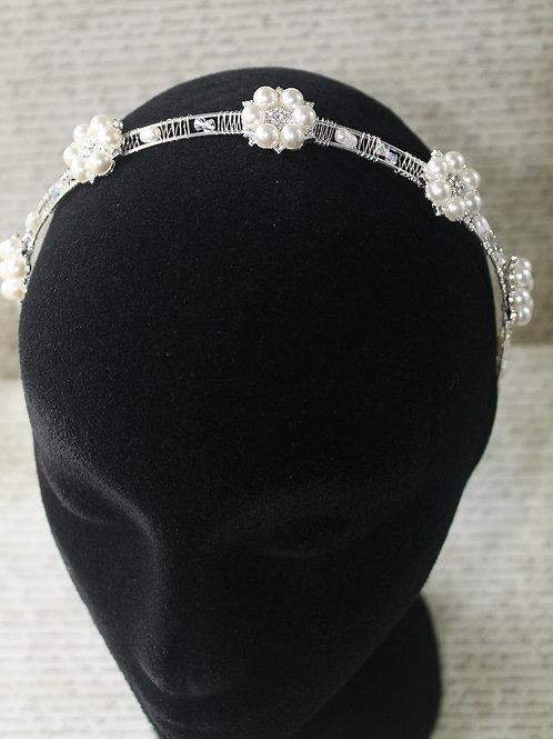 Rhoslyn Pearl, Crystal and Diamanté Headband