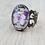 Thumbnail: Butterfly Filigree Brass Ring