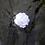 Thumbnail: White Flower Brass Ring