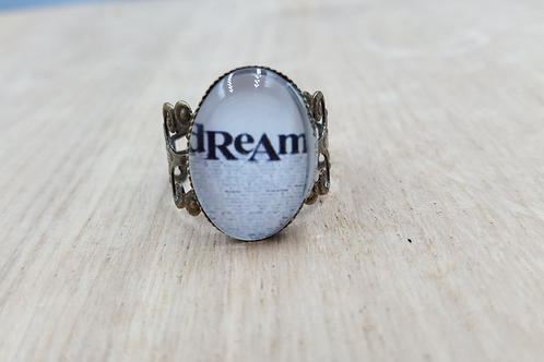Dream Filigree Brass Ring