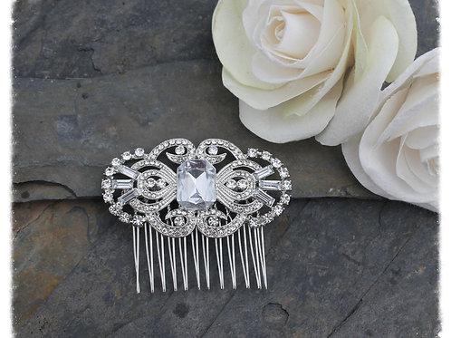 Auralia Diamante and Crystal Art Deco. Gatsby.