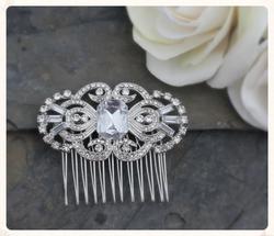 Diamante and Crystal Art Deco. Gatsb