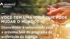 EkonoWater é selecionada para a próxima fase da Aceleradora AMBEV