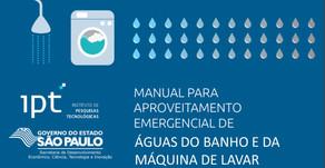 Manual para aproveitamento de água de reuso do IPT (Instituto de Pesquisas Tecnológicas)