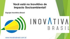 Outra surpresa boa! EkonoWater é selecionada no Programa InovAtiva de  Impacto Socioambiental!