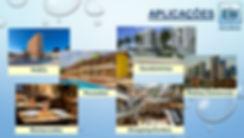 Ekonowater aplicações