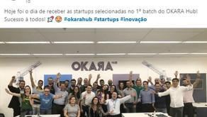 Estamos muitos felizes, EkonoWater é selecionada para programa de tração do OKARA Hub