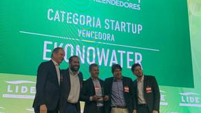 EkonoWater foi a grande vencedora do Prêmio StartUp do 10° Fórum LIDE de Empreendedores 2019
