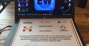 Fomos convidados a fornecer nossa solução de economia de água para AMBEV.