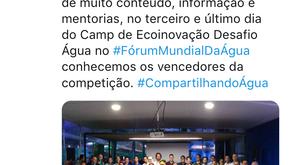 8º Fórum Mundial de Água 2018 - Camp EcoInovação Sebrae | ONU | Green Nation